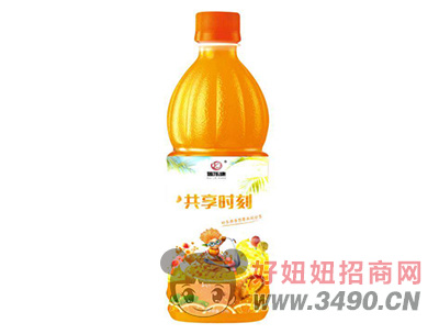 瑞乐康共享时刻橙汁1.25L