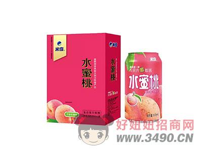 水蜜桃复合果汁饮料310ml×12罐
