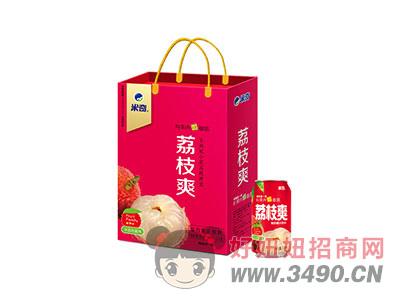 米奇荔枝爽复合果汁310ml×12罐