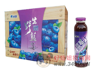 米奇�{莓果汁�料306ml×8瓶