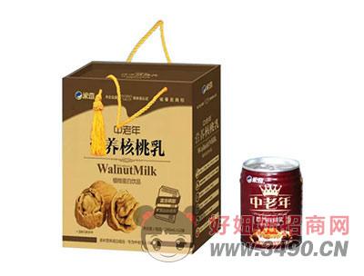 米奇中老年营养核桃乳植物蛋白饮品240mlX12罐