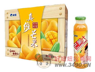 米奇芒果果汁�料306ml×8瓶