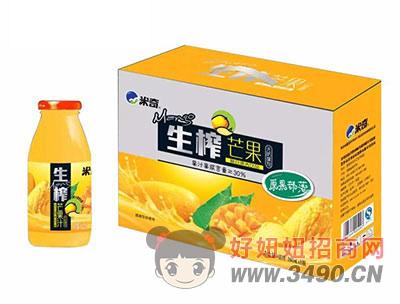 米奇生榨芒果复合果汁饮品260ml×8瓶