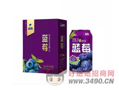 蓝莓复合果汁饮料310ml×12罐