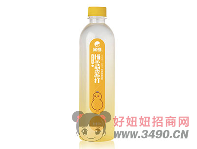 米奇雪梨苏打果味饮料500ml×15瓶