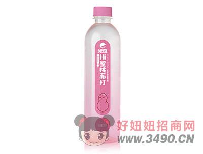 米奇蜜桃苏打果味饮料500ml×15瓶