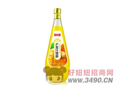 自然盒子芒果汁饮料