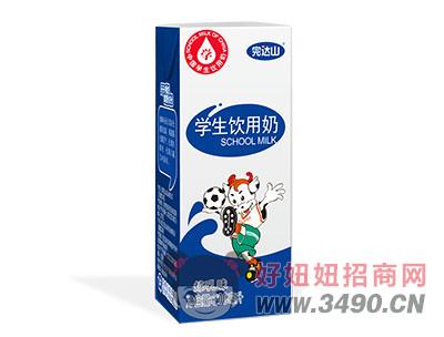 完达山学生奶炼乳味200ml