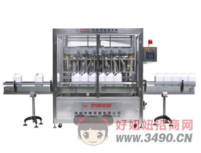 世峰-SFGG-5000-6六自动膏体液体灌装机
