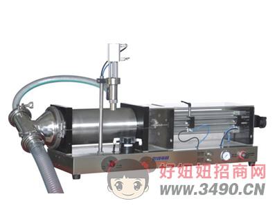 世峰-SFGY-5000K系列全气动半自动液体灌装机
