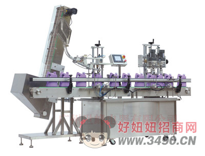 世峰-SFXG-60-2双头自动变频旋盖机