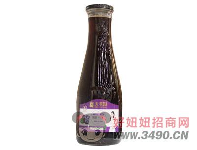 葛天果园蓝莓汁饮料1.5L