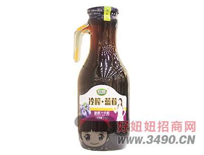 世鸿冷榨蓝莓汁饮料1.5L