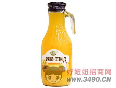 世鸿冷榨芒果汁饮料1.5L