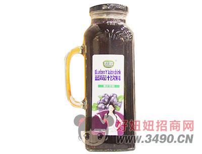 世鸿蓝莓汁饮料1L