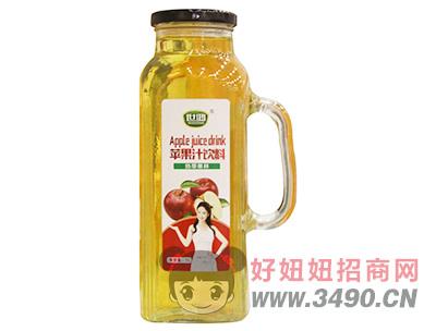 世鸿苹果汁饮料1L玻璃瓶