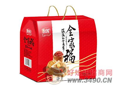 友浓金家福面包礼盒1千克