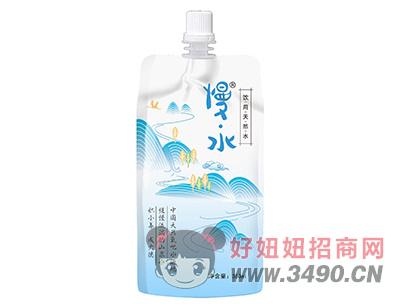 慢水饮用天然水350ml