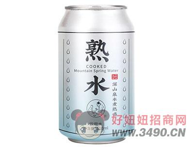 310ml熟水(凉开水)