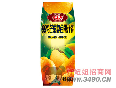 中沃99%芒果�秃瞎�汁�料250ml