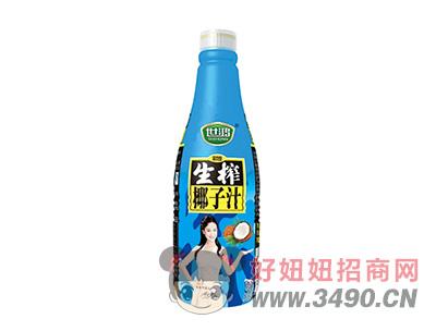 世鸿生榨椰子汁1.25L