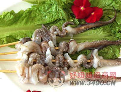 鱿鱼须串-喜洋洋