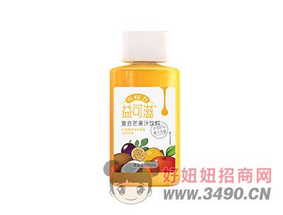 益可滋复合芒果汁饮料350ml(正面)