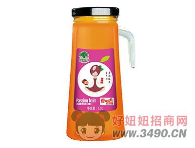 淇果庄园百香果汁1.5l