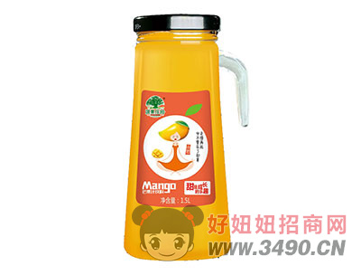 淇果庄园芒果汁1.5l(手把)