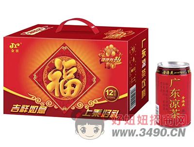 金羽凉茶310ml×12罐