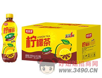 优品营柠檬茶500ml×15瓶