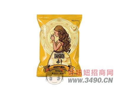 洱海咸蛋黄味薯片100g