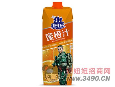 特种兵蜜橙汁茶饮料1L