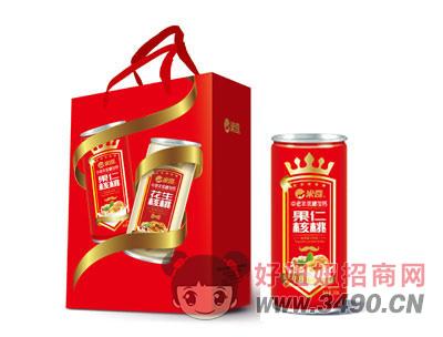 中老年低糖加钙果仁核桃植物蛋白饮品240mlx20罐