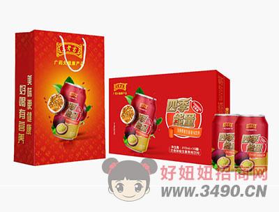百香果维生素果味饮料310mlx16罐