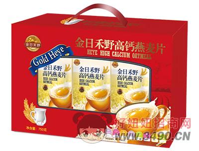 金日禾野高钙燕麦片750g