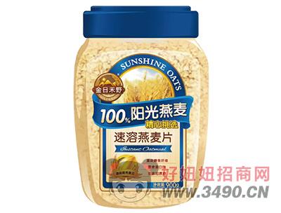 金日禾野速溶燕麦片900g