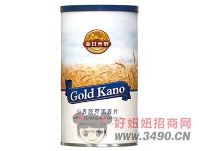 金日禾野小麦胚芽黑麦片500g