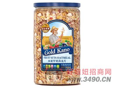 金日禾野水果坚果燕麦片500g