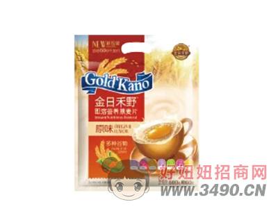 金日禾野原味即溶营养燕麦片600g