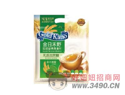 金日禾野无蔗糖即溶营养燕麦片600g
