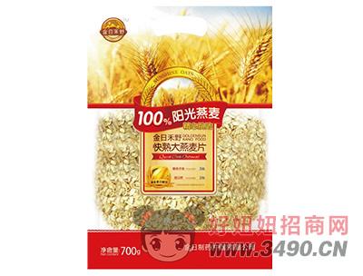 金日禾野快速大燕麦片700g
