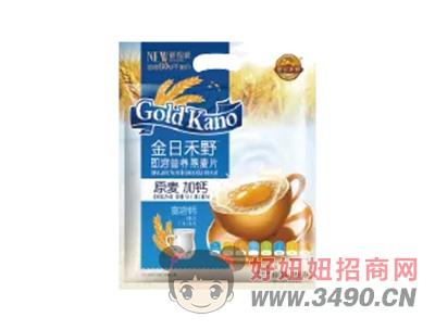 金日禾野原麦加钙即溶营养燕麦片600g