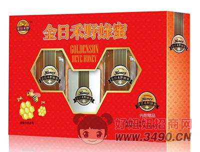 金日禾野蜂蜜�Y盒1kg