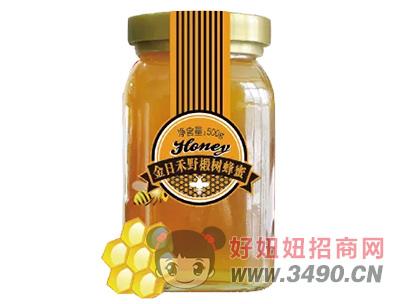 金日禾野椴树蜂蜜500g