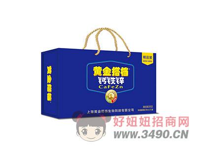 黄金搭档中老年高钙复合蛋白饮品250mlX12盒箱装
