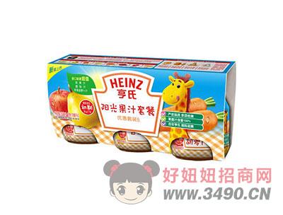 亨氏阳光果汁套餐-(优惠套装B)