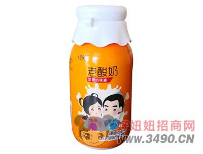 慢畅原味发酵型老酸奶350ml