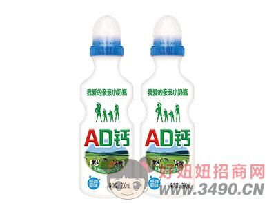 AD钙乳酸菌风味饮品200ml蓝盖