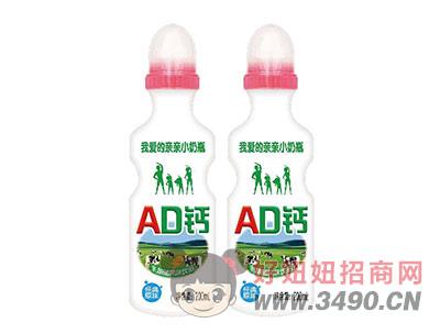 AD钙乳酸菌风味饮品200ml红盖